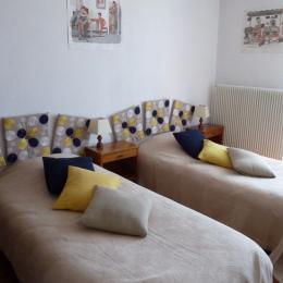 Bureau Chambre 2 - Location de vacances - Gérardmer
