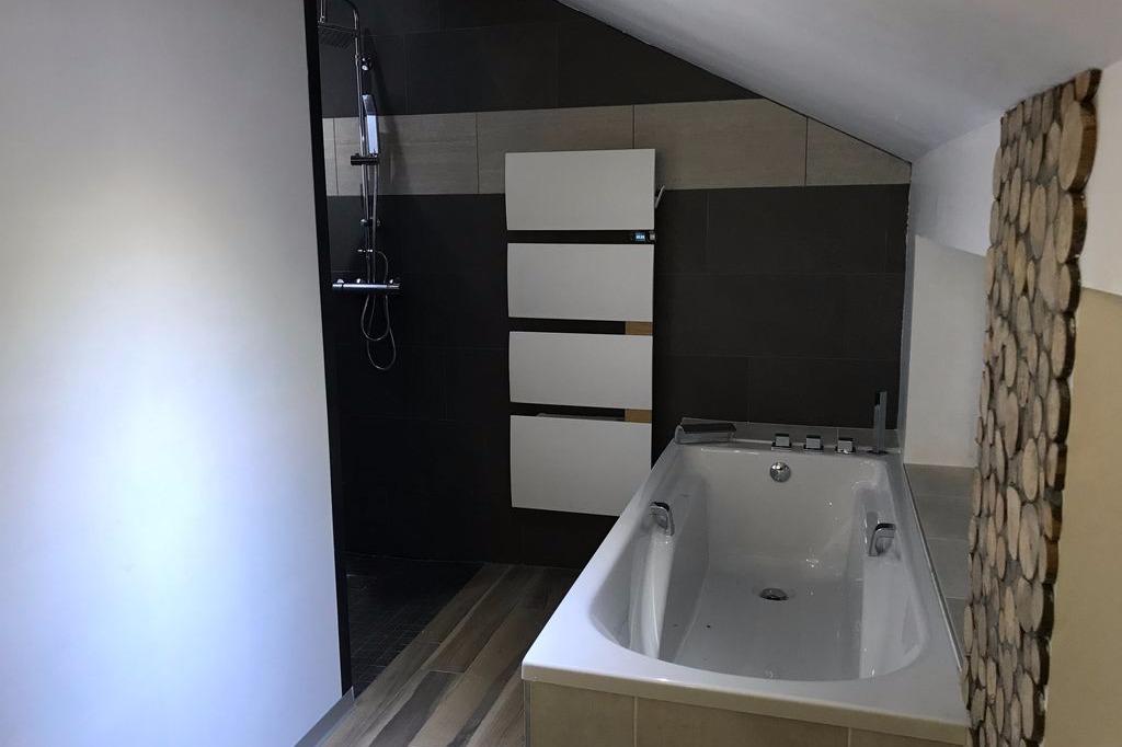 La salle de bain - Location de vacances - Gérardmer