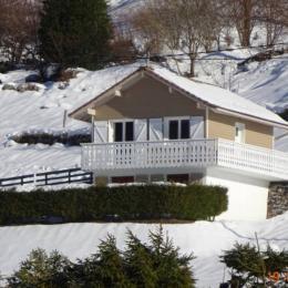 Vue sur la vallée depuis le balcon - Location de vacances - La Bresse