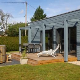 Chalet bleu et sa terrasse - Location de vacances - Vagney
