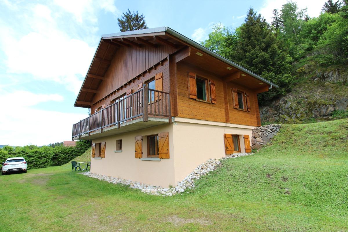 Extérieur chalet - Location de vacances - Gérardmer
