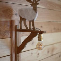 Salle d'eau ouverte sur la chambre - Chambre d'hôtes - Cornimont