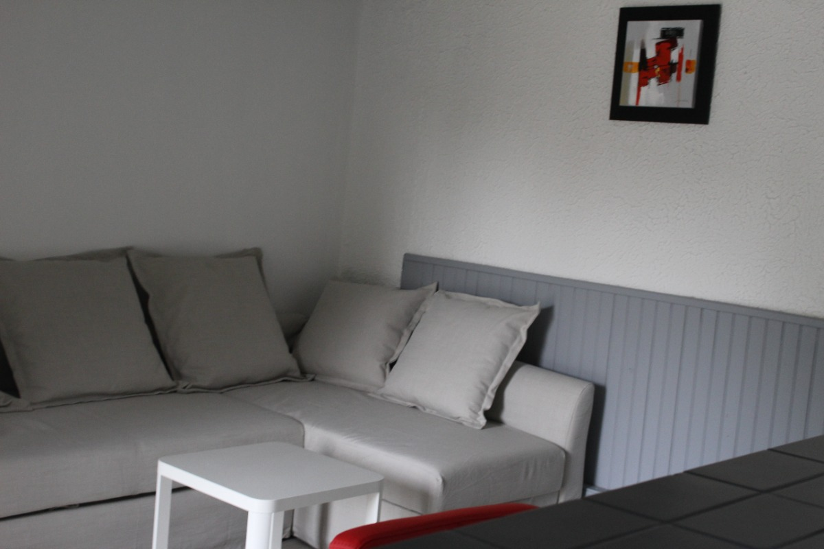 Espace salon - Location de vacances - Grandvillers
