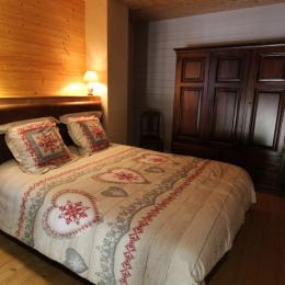 Chambre 1 - Location de vacances - Clézentaine