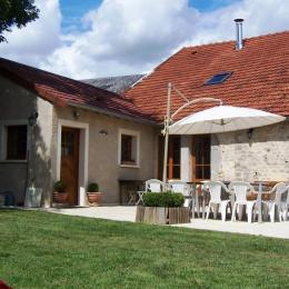 Terrasse et jardin - Location de vacances - Grand
