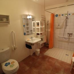 Salle d'eau 1 rdc - Location de vacances - Grand