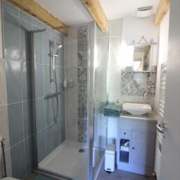 Salle d'eau attenante - Chambre d'hôtes - Cornimont