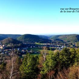 Point de vue à quelques minutes de la chambre d'hôtes - Chambre d'hôtes - Bruyères