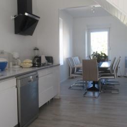 pièce à vivre (cuisine) - Location de vacances - Charmois-l'Orgueilleux