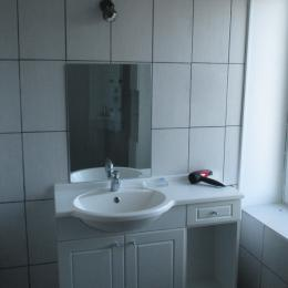Salle d'eau - Location de vacances - Charmois-l'Orgueilleux