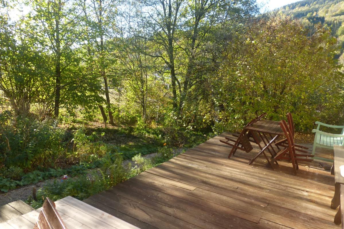 Terrasse - Chambre d'hôtes - Cornimont