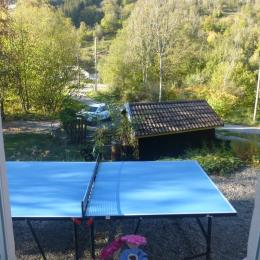 Table de ping-pong - Chambre d'hôtes - Cornimont