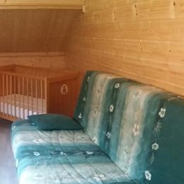 Chambre 4 avec lit bébé  - Location de vacances - Gérardmer