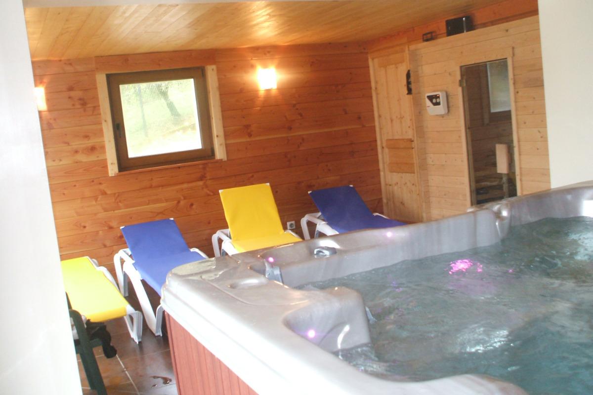 Espace Détente : SPA Jacuzzi Sauna - Location de vacances - Dommartin-lès-Remiremont