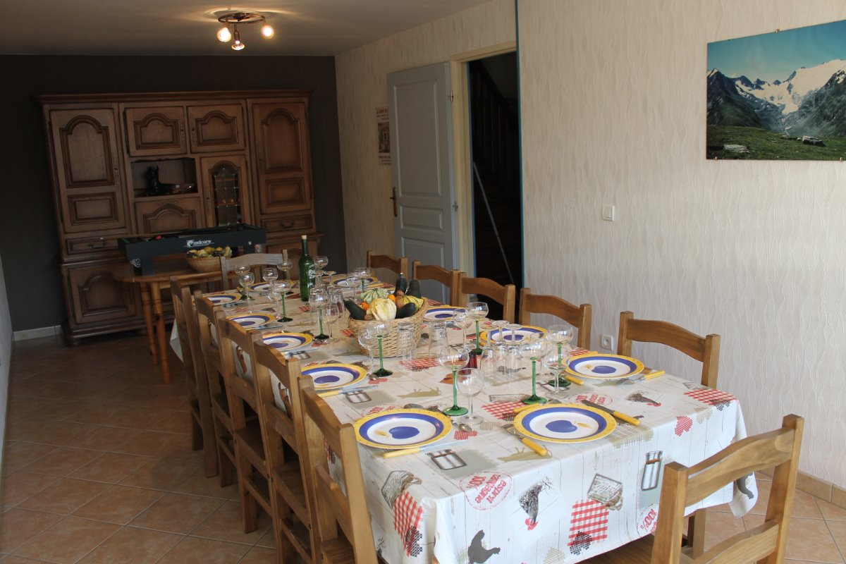 salle à manger - Location de vacances - Anould