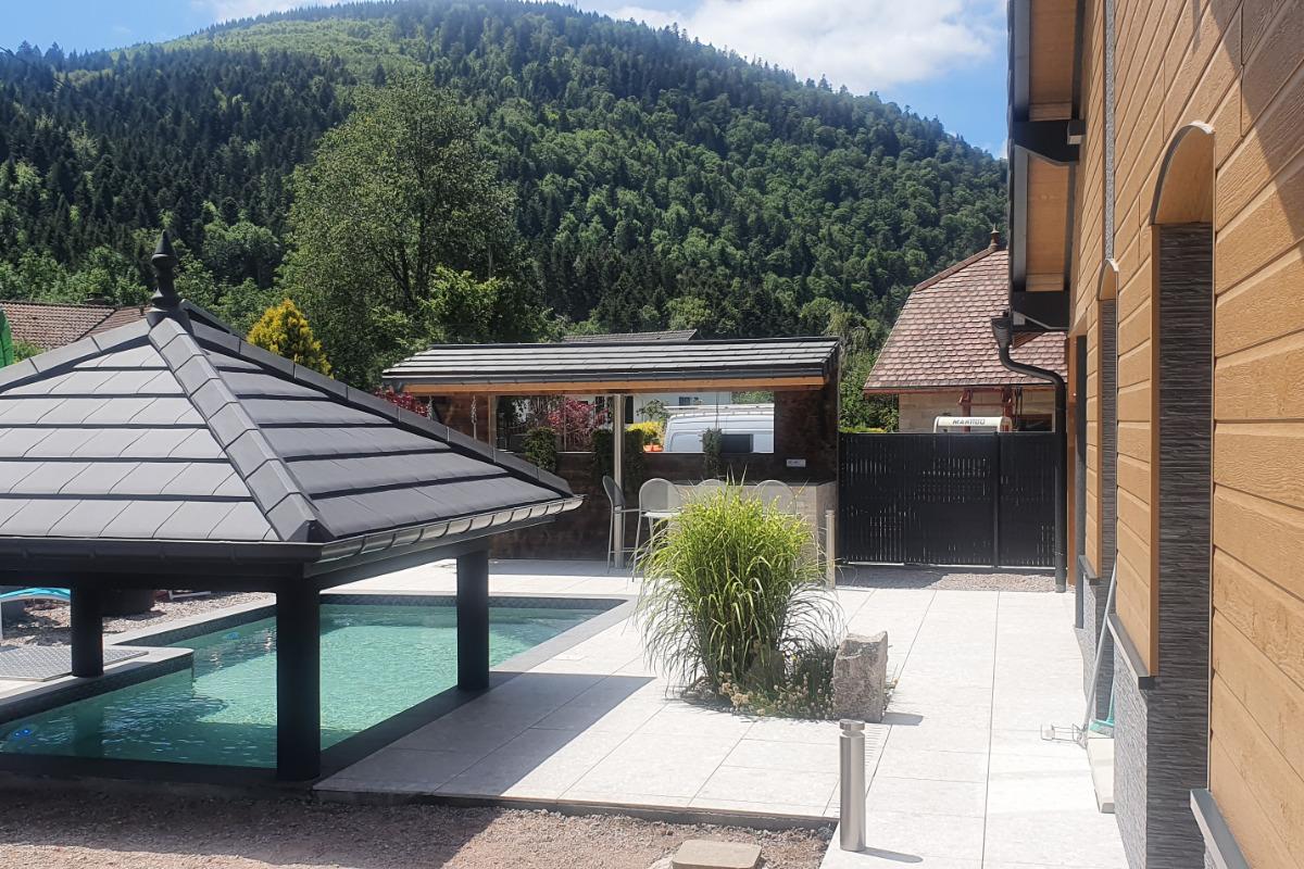 extérieur - Location de vacances - Rochesson