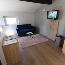 Espace salon - Location de vacances - Contrexéville