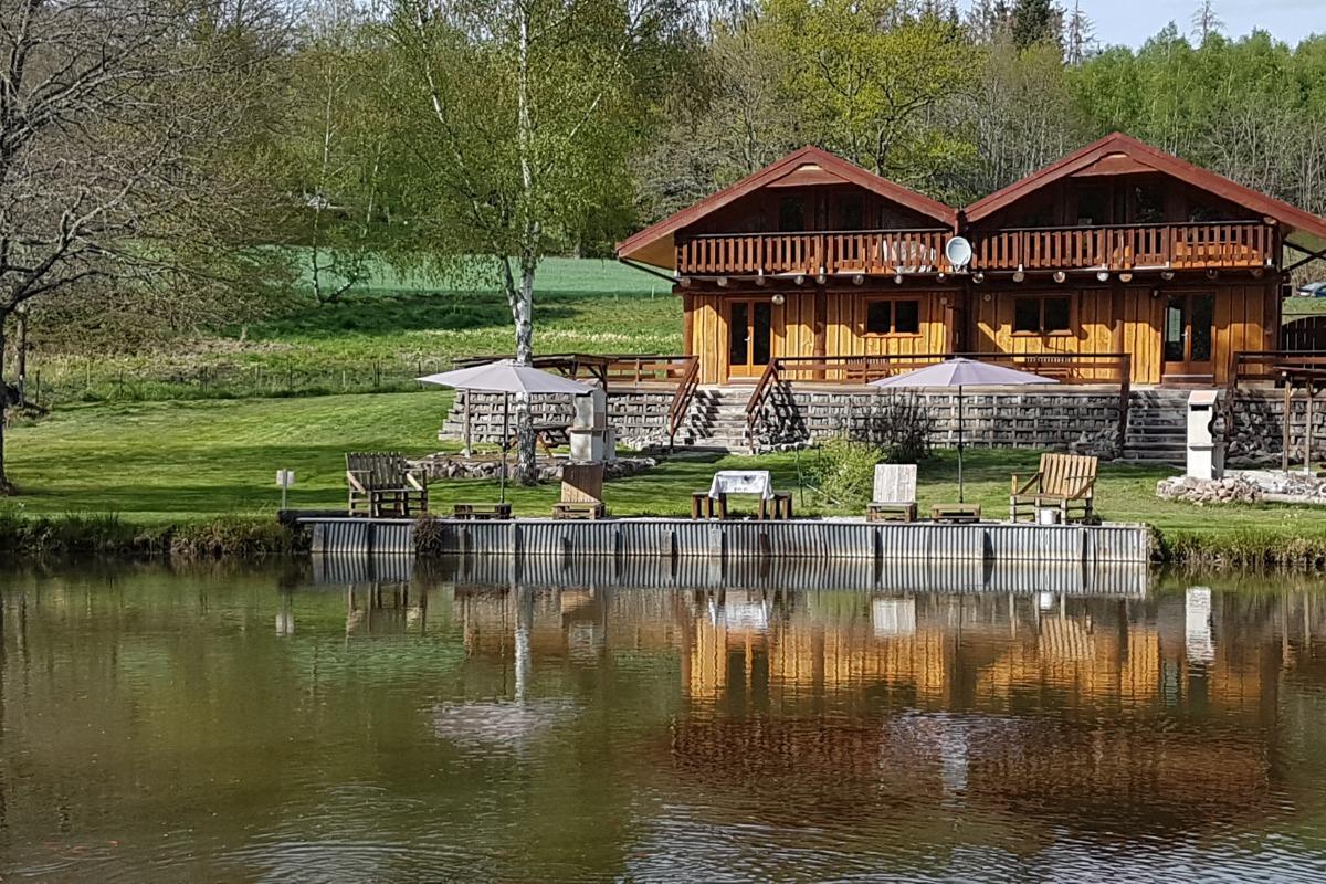 Chalet hiver - Location de vacances - Saint-Léonard
