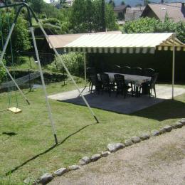 portique terrasse - Location de vacances - Gérardmer