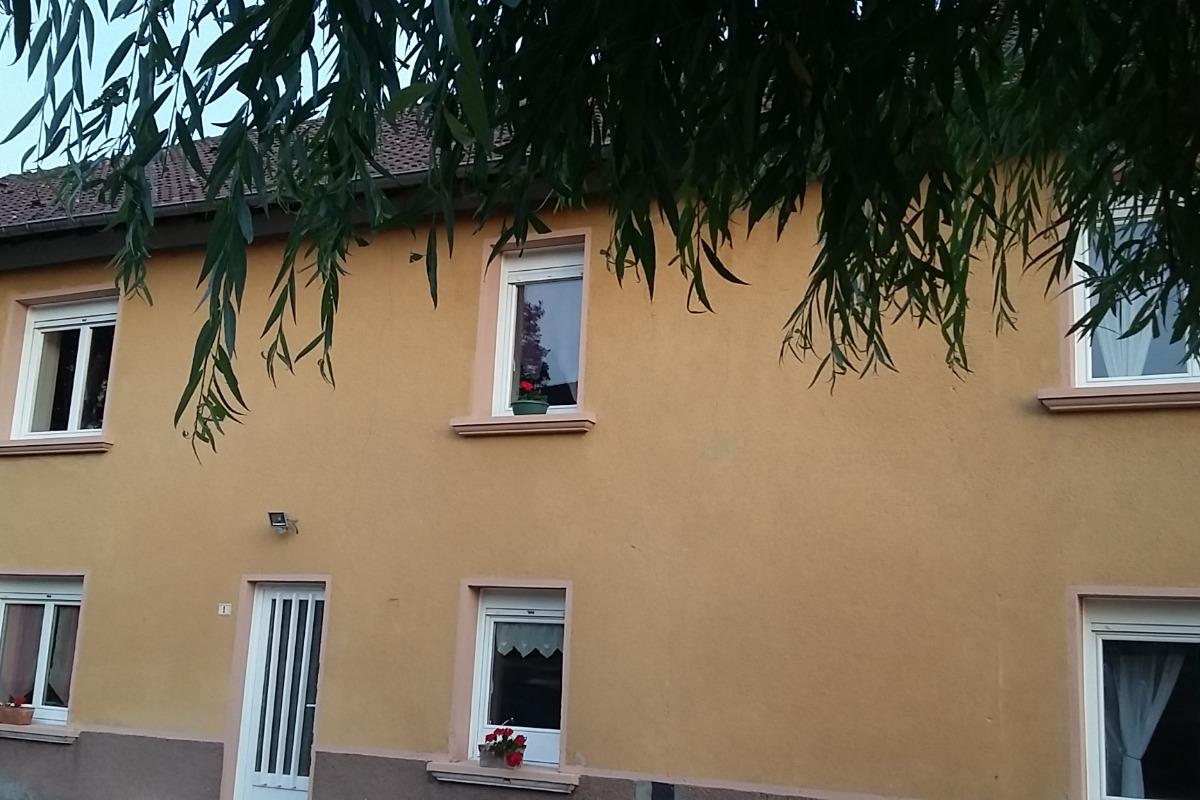 Façade de la maison - Location de vacances - Faucompierre