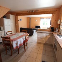 Pièce de vie location - Le Rêve de Charles - Location de vacances - Faucompierre