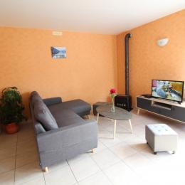 Salon location - Le Rêve de Charles - Location de vacances - Faucompierre