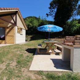 Salon cheminée - Location de vacances - Allarmont