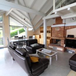 Salon et salle à manger - Location de vacances - La Bresse