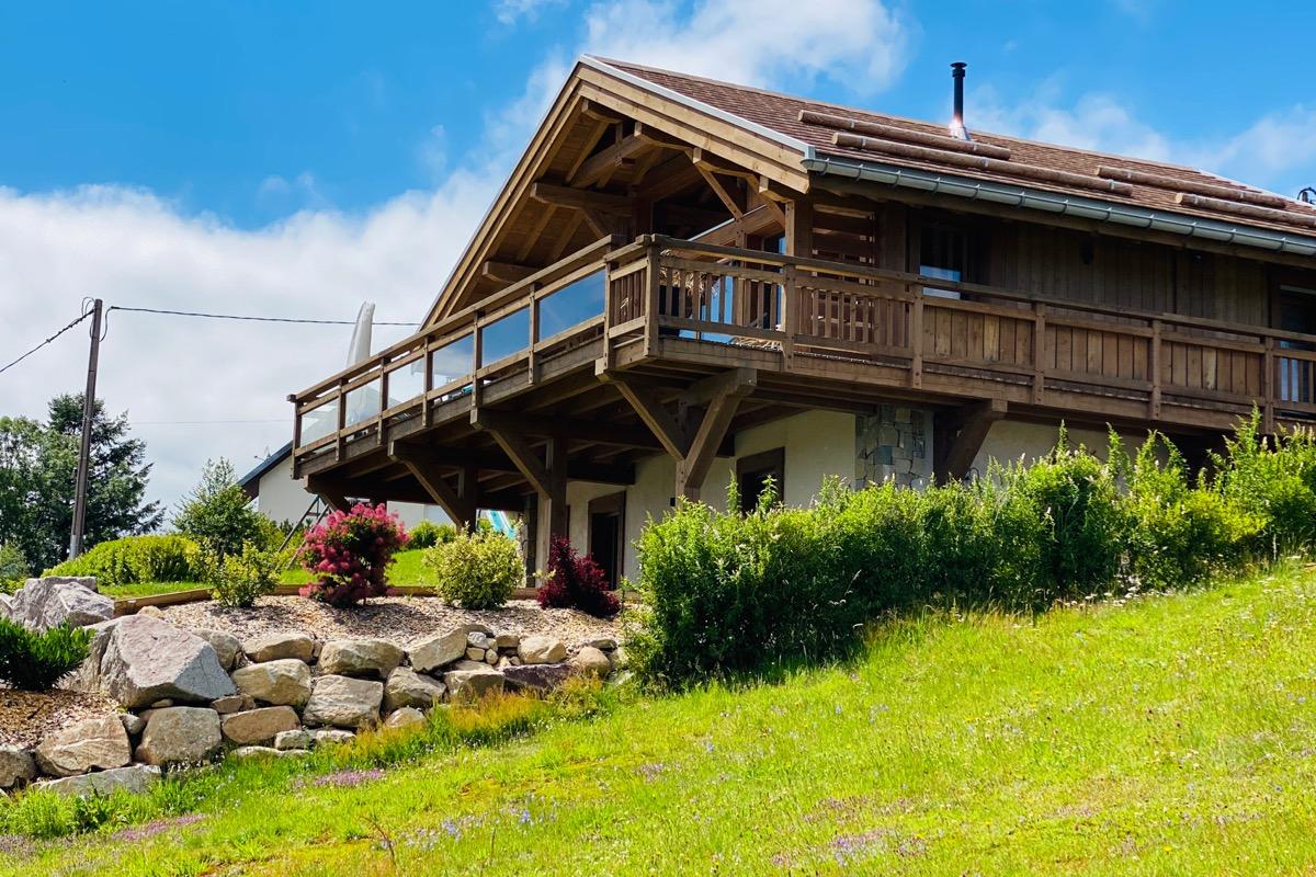 Le chalet eu les pistes de ski - Location de vacances - Gérardmer