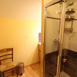 Salle d'eau douche - Chambre d'hôtes - Rochesson