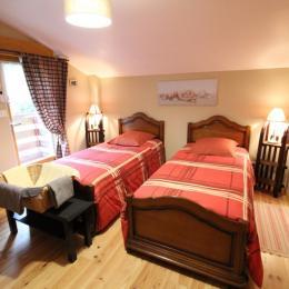 Chambre 2 familiale avec balcon, de la Fesnel - Chambre d'hôtes - Rochesson