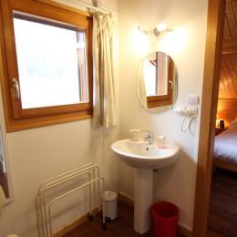 Salle d'eau attenante chambre - Chambre d'hôtes - Girancourt