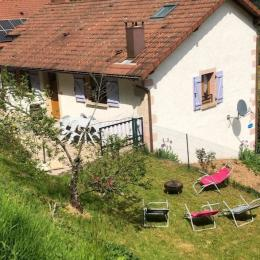 coin terrasse - gîte les Azalées - Location de vacances - Rupt-sur-Moselle