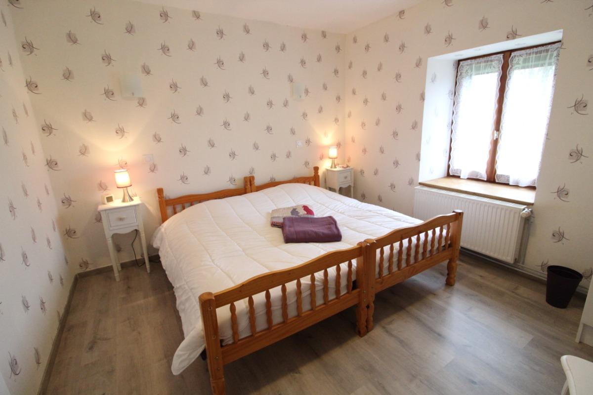 Chambre d'hôtes - lit pour 2 personnes - Chambre d'hôtes - Le Clerjus