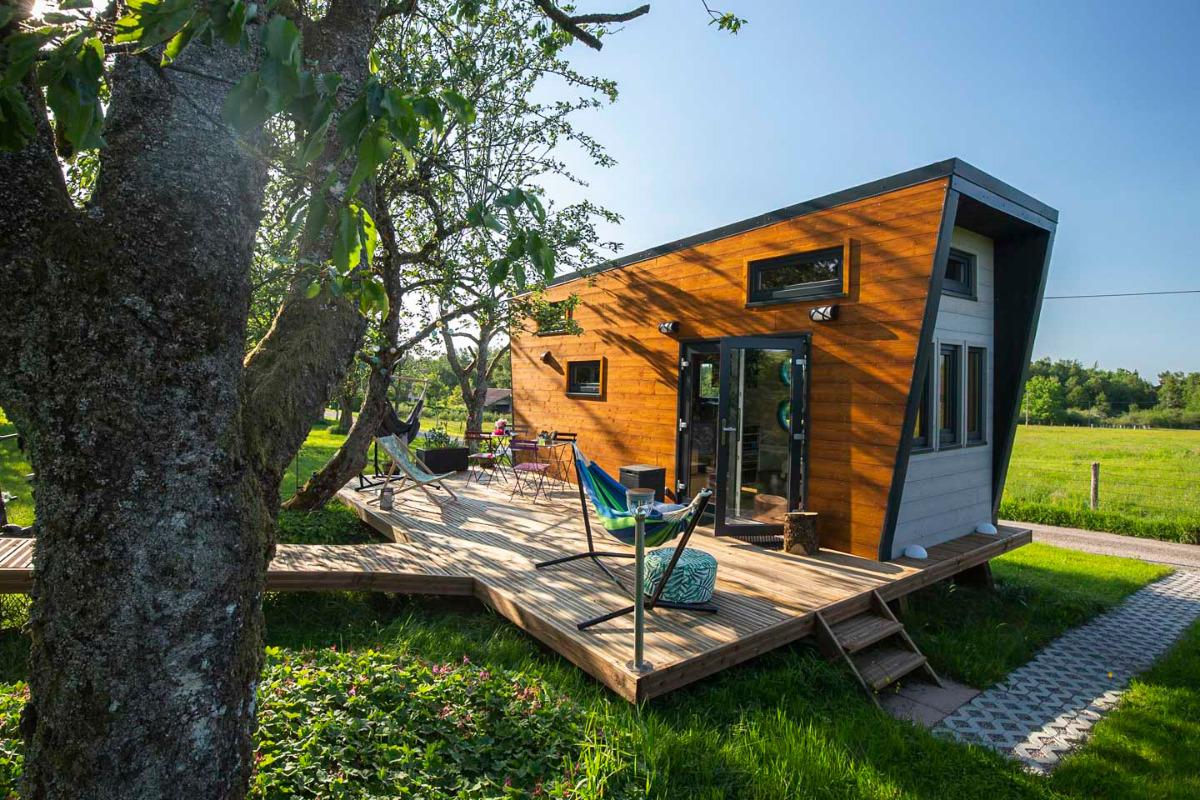 Notre Tiny House classée 1 étoile - Location de vacances - Bellefontaine