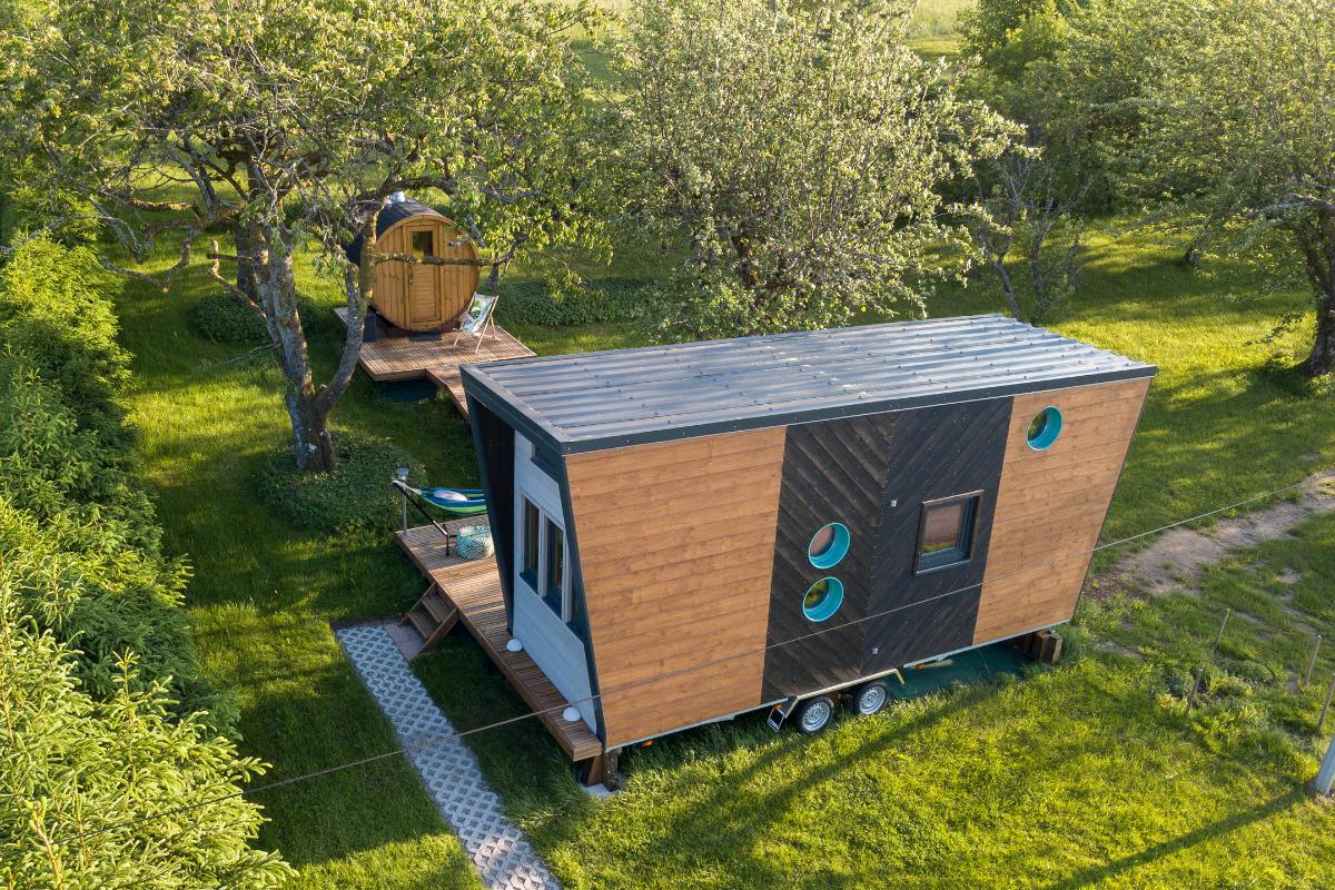 Tiny House - Extérieur - Location de vacances - Bellefontaine