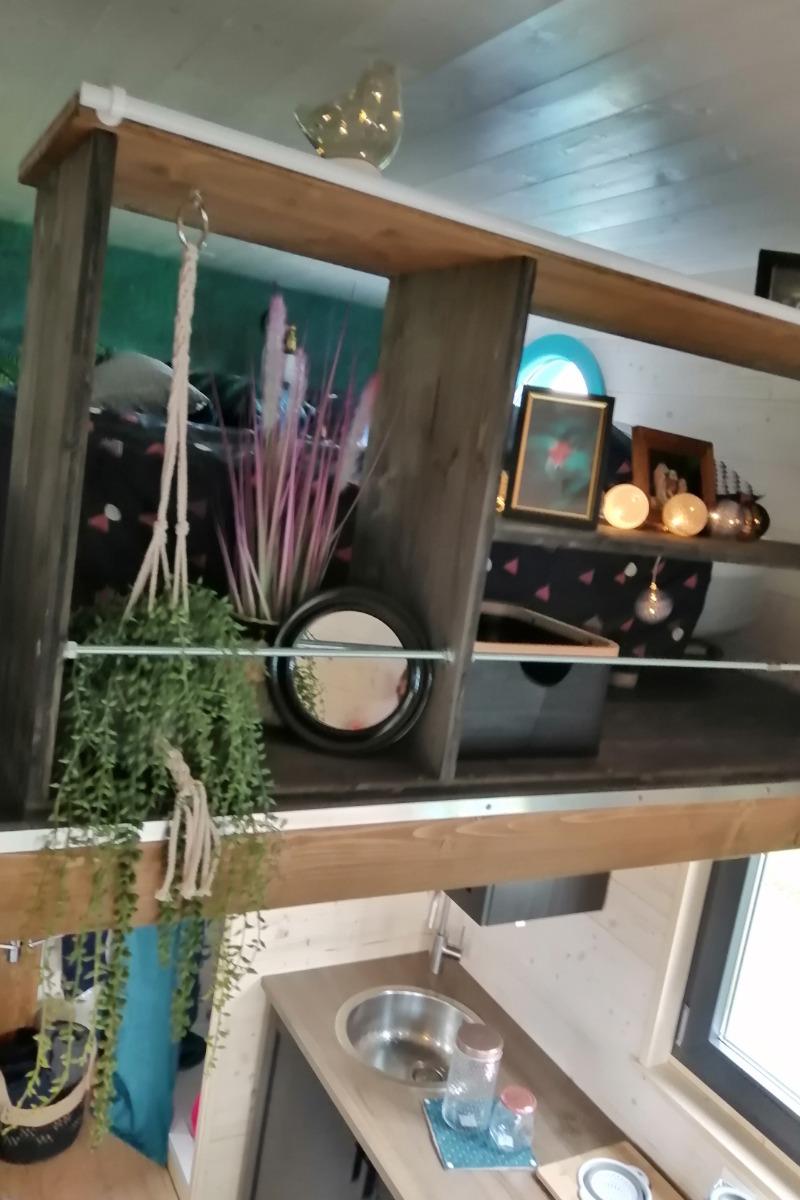 Tiny House - Mezzanine - Location de vacances - Bellefontaine