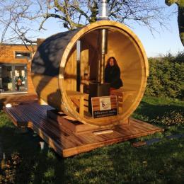 Tiny House - Salle d'eau - Location de vacances - Bellefontaine