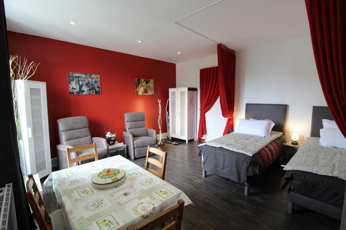 Pièce de vie Chez Martine - Location de vacances - Vittel