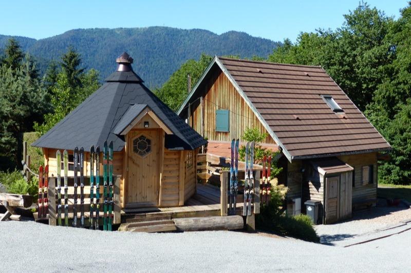 Le chalet Bruyères et le kota finlandais - Location de vacances - Saint-Maurice-sur-Moselle