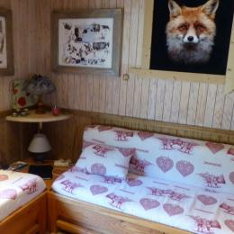 Coin salon dans la pièce à vivre - Location de vacances - Saint-Maurice-sur-Moselle