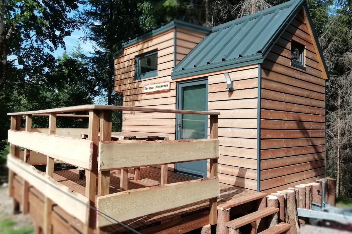 Tiny House la Bûcheronne Saveurs Vosgiennes - Location de vacances - Le Syndicat
