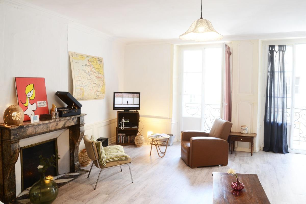 Pièce de vie lumineuse - Appartement Stanislas - Location de vacances - Plombières-les-Bains