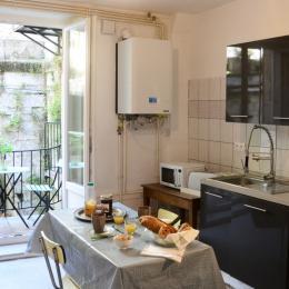 Cuisine indépendante - Appartement Stanislas - Location de vacances - Plombières-les-Bains