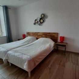 chambre 3 avec bureau - Location de vacances - Gérardmer