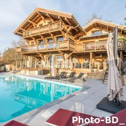 Chalet Prestige Spa sous la Roche - extérieur - Location de vacances - Le Tholy