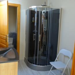 Salle d'eau privative - Chalet des Beuquillons - Chambre d'hôtes - Gérardmer