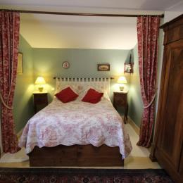 Chambre 1 lit 140 Le Verger des Fontenelles - Chambre d'hôtes - Bains-les-Bains