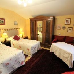 Chambre 2 lit 80 jumeaux - Le Verger des Fontenelles - Chambre d'hôtes - Bains-les-Bains