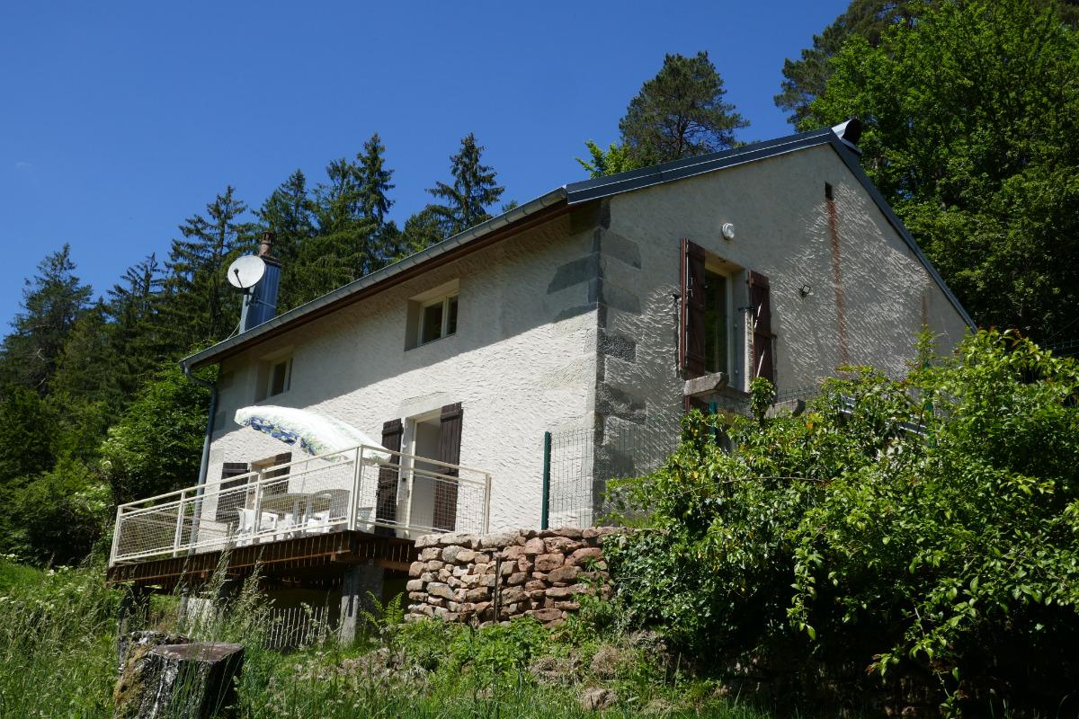 Le balcon - Location de vacances - Raon-aux-Bois
